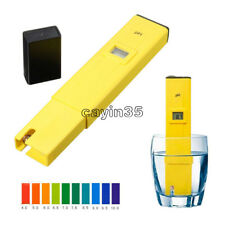 Digital PH Meter Water Tester Pen LCD Monitor Pool Aquarium Laboratory