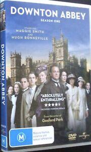 Downton Abby - Season 1 - 4 Disc DVD Set - Region 4 - PAL - Very Good Condition