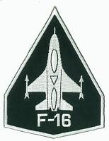 Ecusson patche F-16 US Air Force aviation patch avion pilote