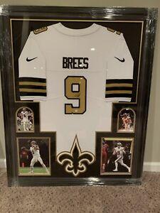 Drew Brees New Orleans Saints Signed Nike Color Rush Autograph Jersey - PSA COA