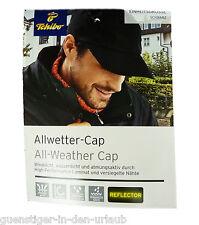 TCM Tchibo Allwettercap Allwetter Kappe Cap Mütze schwarz Einheitsgröße NEU