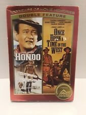 Hondo Once Upon A Time In The West John Wayne Double Feature Western Classic Dvd