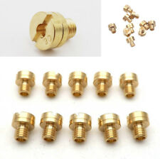 10x 5mm Carb Main Jets Large Round for   Carburetor Carb Jet ATV Motorcycle