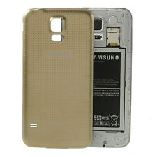 TAPA DE BATERÍA BACK COVER COLOR GOLD DORADO PARA SAMSUNG GALAXY S5 SM-G900F