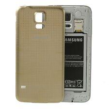 Tapa de Batería Back cover color Gold dorado para Samsung Galaxy S5 Sm-g900f