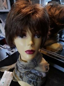 "Revlon wig ""POETRY"" R12 PECAN BROWN . MONO"