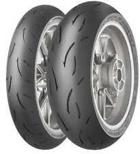 Gomme Moto 180/55 ZR17 Dunlop 73W GP RACER D212 pneumatici nuovi