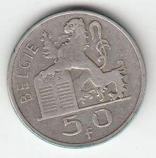 MONNAIE 50 FRANCS 1948  BELGIE ARGENT SYLVER