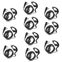 10X 2Pin Headset Earpiece MIC For BaoFeng UV-5R BF-888S DM-5R BF-F8+ GT-3 Radios