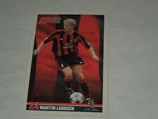 MILAN CALCIO-CARTOLINA FORZA MILAN 2003/2004 CALCIATORE MARTIN LAURSEN CM.10X15