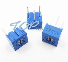 10Pcs 3362P-102 3362 P 1K ohm High Precision Variable Resistor Potentiometer