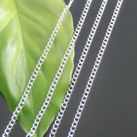 400cm Silver Iron Metal Chain Jewelry Making DIY Necklace Pendant Chains