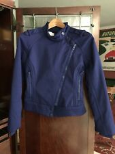 Adidas Stella McCartney Asymmetrical Zip Jacket Coat Size Small Softshell