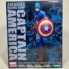 Kotobukiya Captain America Marvel The Avengers Now ArtFX Figure Statue Sealed