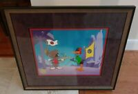 """""""PLANET X"""" LIMITED EDITION CEL/CHUCK JONES/DAFFY & MARVIN THE MARTIAN #531/750"""