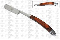 Straight Edge Razors Folding Shaving Razor Knife - WOOD