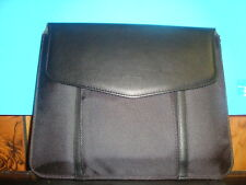 Verizon Micani Leather Goods Co. case, black, New