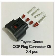 Toyota Denso Yaris Echo Ignition Coil On Plug Connector Kit X 4pcs (90980-11885)