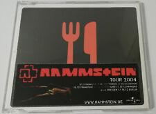 RAMMSTEIN - MEIN TEIL / 4. TRACK CD + GERMAN TOUR STICKER *MEGARAR*