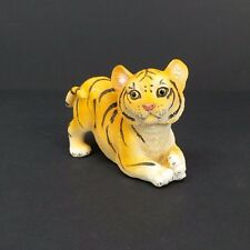 """Small Bengal Tiger Figurine 2.5"""" Tall Wild Cat Collectible Statue C"""