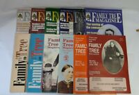 Bundle of 12 Family Tree Magazines 1988, 1994, 1995, 2002 & 2003 - Good Cond.