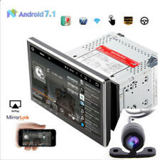 """10.1"""" Android 7.1 Double 2DIN Car Stereo Radio DVD Player GPS Navigation+Camera"""