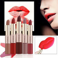 2 in1 Cosmetic Matte Lip Gloss Beauty Makeup Waterproof Velvet Liquid Lipstick