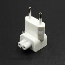 EU 2 Pin Power Travel Wall Plug Adaptor Charger for Apple iPad MacBook Ipods US