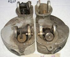 1953-59 AJS Matchless G9 500cc pair cylinder heads P