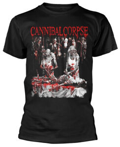 Cannibal Corpse 'Butchered At Birth Explicit' (Black) T-Shirt - NEW