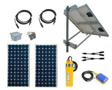 "Solar Well Pump Kit - PV Powered Water Pumping System - Pump Fits 4"" SCH40 Wells"