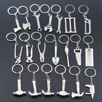 New Creative Tool Wrench Spanner Key Chain Ring Keyring Metal Keychain Practical