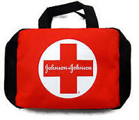 lot of 2  Build Your Own First Aid Kit Case(No Contents) Logo Johnson & Johnson