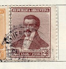 Argentine Republic 1916 Early Issue Fine Used 2c. 087380