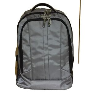 Samsonite Travel Gear Business Backpack Color Grey.Carry on Fits Laptop