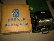 Used Hohner Ouverture in C/F accordion fisarmonica in box & hohner carton f.1974