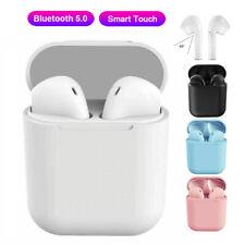 TWS Kopfhörer Bluetooth 5.0 In-Ear Ohrhörer Headset HiFi Stereo mit Mic Ladebox