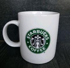 Vintage 1999 Starbucks Siren Mermaid Logo Coffee Mug Tea Cup 14oz