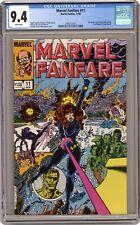 Marvel Fanfare #11 CGC 9.4 1983 3745737011