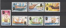 Mongolia 1992 Columbus/barcos/marítimo 7v Set ref:n12209