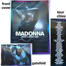 Madonna Sticky Sweet USA Europe Brazil Mexican Tour Book New Official