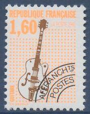 FRANCE 1992 PREOBLITERES N°213a** Guitare dentelé 12, TTB,  precancelled MNH