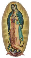 Iron on Patches Religious Cotton Guadalupe DIY Mary Madonna Gold Angel Patch