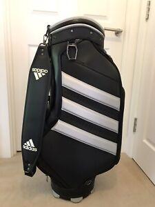 Adidas Tour/Staff Bag RARE. Original Strap & Vinyl Hood. Fantastic Condition.