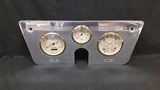 1967 1968 1969 1970 1971 1972 CHEVY TRUCK 3 GAUGE CLUSTER GOLD
