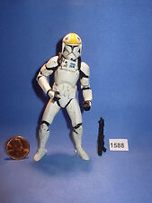 "Star Wars 2002 CLONE TROOPER REPUBLIC GUNSHIP PILOT SWS 3.75"" figure #4"