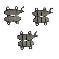 3Pair Brake PADS YERF DOG SPIDERBOX GX150 150CC GO KART 3206 4206 3209 420