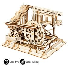 3D Wooden Puzzle Laser Cutting Marble Run Building Toy Gift for Adult Teens