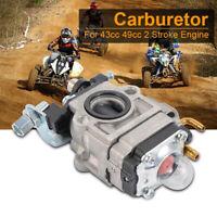 15Mm Carb Carburetor For 43 47 49Cc 2-Stroke Scooter Dirt Pocket Motorcycle JE