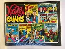 Nostalgia Comics #2 Comic Strip Reprints Collection Popeye Flash Gordon